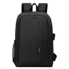 ราคา 1Pc Outdoor Multi Functional Waterproof Camera Laptop Backpack Orange Intl เป็นต้นฉบับ