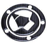 ซื้อ 1Pcs Oil Gas Tank Carbon Fiber Fuel 5 Bolt Pad Cover Protector Sticker For Kawasaki Intl ออนไลน์
