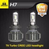 ขาย 1Setoriginal Owlview Cree Chip H7 H4 H11 H13 H1 H3 9005 9006 9007 Cob Led Car Headlight Bulb Hi Lo Beam 72W 8000Lm 6000K Auto Headlamp 12V 24V Intl ราคาถูกที่สุด