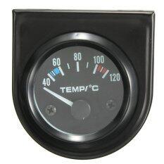 ขาย 2 52Mm Universal Car Pointer Water Temperature Temp Gauge 40 120℃ White Led ออนไลน์