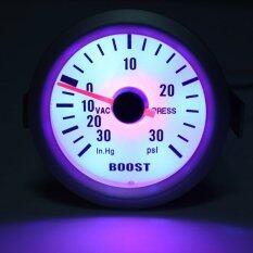 ซื้อ 2 52Mm Vacuometro Manometro Strumento Pressione Turbo Auto 30In Hg 30Psi