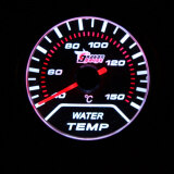ขาย ซื้อ 2 52Mm White Led Water Temp Gauge Car Autometer Water Temperature Meter Sensor ฮ่องกง