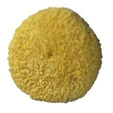ราคา ลูกขัดเงาขนแกะ 2 หน้า สีเหลือง 8 สำหรับงานขัดละเอียด Yellow Polishing Pad ราคาถูกที่สุด