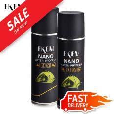 ส่วนลด สินค้า สเปรย์กันคราบสกปรกภายในรถยนต์ กันน้ำเบาะรถ 2 ชิ้น Ekem Nano Water Proofer 2 Pcs