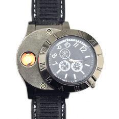 โปรโมชั่น 2In1 นาฬิกาโลหะ และผ่านจุดหัก สีดำ ใน ฮ่องกง