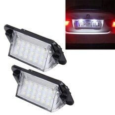 ราคา 2 Pcs License Plate Light With 18 Smd 3528 Lamps For Bmw E36 1992 1998 ,2W 120Lm 6000K Dc12V White Light Intl Sunsky
