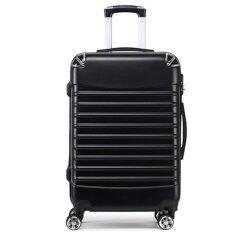 กระเป๋าเดินทาง 20 นิ้ว 8 ล้อคู่ สีดำ ใหม่ล่าสุด