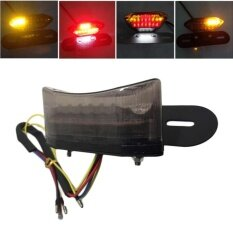 ซื้อ 20 Led Brake Tail Turn Signal Light With License Plate Bracket For Motorcycle Intl ออนไลน์ ถูก