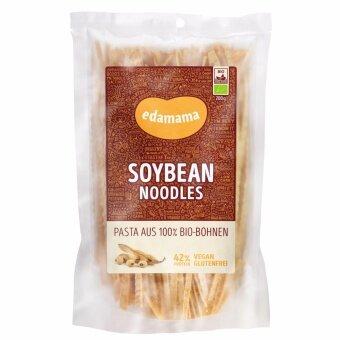 เส้นพาสต้าสำหรับมังสวิรัติ ถั่วเหลือง 100% ตรา เอดามาเม นู้ดเดิ้ล 1 แพ็ค (200กรัม)