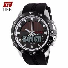 ราคา 2018 Skmei1064คนกีฬานาฬิกาดิจิตอลอิเล็กทรอนิกส์พลังงานนาฬิกาข้อมือเงิน เป็นต้นฉบับ
