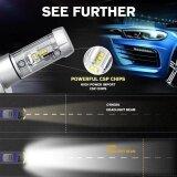 โปรโมชั่น 2017 2Pc X3 H4 50W 12000Lm Car Led Headlamps 6500K White High Power Intl ใน จีน