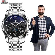 ซื้อ 2017 นาฬิกาข้อมือสุดหรูแบรนด์ยอดนิยม Tevise ผู้ชายกีฬานาฬิกาผู้ชายนาฬิกาอัตโนมัตินาฬิกาข้อมือดวงจันทร์ 9005 ใหม่