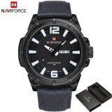 ซื้อ 2017 New Fashion Luxury Brand Naviforce Men Army Military Watch นาฬิกาข้อมือ Es Men S Quartz Clock Man Sports Wrist Watch นาฬิกาข้อมือ S Masculino ถูก จีน