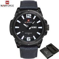 ส่วนลด 2017 New Fashion Luxury Brand Naviforce Men Army Military Watch นาฬิกาข้อมือ Es Men S Quartz Clock Man Sports Wrist Watch นาฬิกาข้อมือ S Masculino