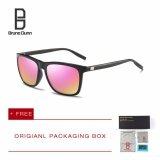 ซื้อ Bruno Dunn Brand หนุ่มแว่นกันแดดโพลาไรซ์ ผู้หญิงผู้ชาย แว่นตา 387 Black Frame Pink Lens ออนไลน์ จีน