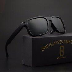 ขาย 2017 New Polarized Cycling Eyewear Brand Desinger Sunglasses Men Women 9912 Black Frame Grey Lense Intl ผู้ค้าส่ง