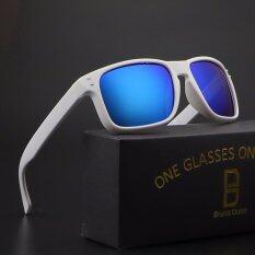 ขาย 2017 ใหม่โพลาไรซ์แบรนด์ Desinger แว่นตากันแดดชาย 9912 กรอบสีฟ้า Bruno Dunn ผู้ค้าส่ง