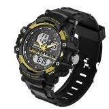 ขาย 2017 Sanda Fashion Waterproof Sport Watch นาฬิกาข้อมือ Men Camping Diving Military Wrist Watch นาฬิกาข้อมือ Es Geneva Clock For Male Saat 740 จีน