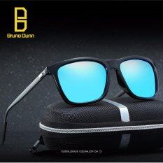 ราคา 2017 Sun Glasses Brand Designer Alloy Frame Sunglasses Women And Men Uv400 Polaroid Lens 387 Gun Frame Blue Lense Intl ออนไลน์