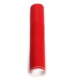 ขาย 20Cmx2M 3D Diy Carbon Fiber Vinyl Wrap Roll Film Sticker Decal Car Home Red ใหม่
