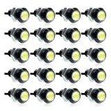 ราคา 20Pcs Car Eagle Eye Led Daytime Running Drl Tail Backup Light 3W White Intl เป็นต้นฉบับ Joomia