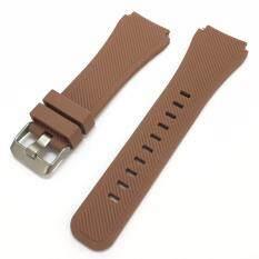 ซื้อ สายนาฬิกา สายยาง ซิลิโคน สีน้ำตาล ขนาด 22 มม Nt Watch Shop Sl3 Silicone Watch Strap 22 Mm Brown Nt Watch Shop ออนไลน์