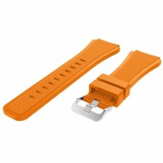 ราคา สายนาฬิกา สายยาง ซิลิโคน สีส้ม ขนาด 22 มม Nt Watch Shop Sl3 Silicone Watch Strap 22 Mm Orange ราคาถูกที่สุด
