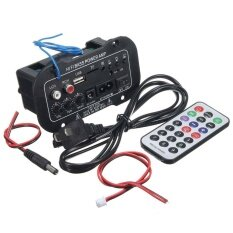 220v Auto Car Bluetooth Audio Power Amplifier Amp Speaker Stereo Hi-Fi Bass - Intl By Litao.