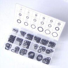 ขาย 225ชิ้นสีดำยางซีลแหวนแหวนยางแหวนยางโอริงชุดตุ๊กตาสำหรับรถสีดำ ออนไลน์ ใน จีน