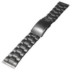 โปรโมชั่น 22 มิลลิเมตรสแตนเลสสตีลนาฬิกาสายคล้องข้อมือตรง จีน