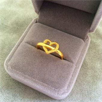 แหวนเด็กผู้หญิงชุบทอง 24k