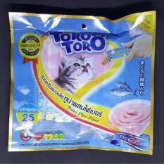 ขาย แมวเลีย 25 ซอง สีฟ้า ทูน่าผสมไฟเบอร์ หมดอายุ 16 09 2019 Toro Toro เป็นต้นฉบับ