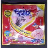 ส่วนลด แมวเลีย 25 ซอง สีแดง ทูน่าและปลาแซลมอน Toro Toro ใน กรุงเทพมหานคร