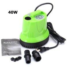 ราคา 2500L H Submersible Water Pump Aquarium Fish Tank Fountain Hydroponic 220V Intl จีน