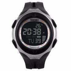 โปรโมชั่น นาฬิกาชายกีฬา 2559 Skmei 1080 Relogio Masculino นาฬิกาข้อมือธรรมดา สีดำ ถูก