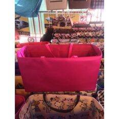 ขาย กระเป๋าจัดระเบียบขนาด 25Cm สีชมพู ที่จัดระเบียบในกระเป๋าถือ 25 เซนติเมตร Bag Organize 25Cm Bag In Bag Organize Pink Unbranded Generic ออนไลน์