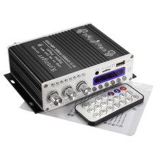 ขาย 2Ch 20 วัตต์ไฟบลูทูธไฮไฟสเตอริโอ Amp เครื่องขยายเสียงเบส Booster สำหรับรถบ้าน Mp3 สีดำ สนามบินนานาชาติ เป็นต้นฉบับ