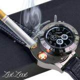 นาฬิกา ไฟแช็ค จุดไฟ 2In1 Usb Watch Lighter แถมFree สายชาร์จ Usb ไทย