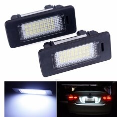 ซื้อ 2Pcs 24 Smd Car Led License Plate Light Lamp For Bmw E90 E82 E92 E93 M3 E39 E60 E70 X5 E39 E60 E61 M5 E88 Intl ถูก ใน สมุทรปราการ