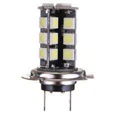 ราคา 2Pcs H7 Canbus Error Free 27 Smd 5050 Led Bright White Fog Head Light Bulb Lamp ใหม่