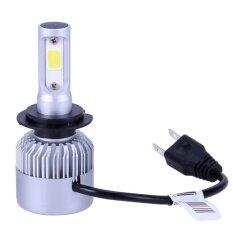 ราคา 2Pcs S2 Automobile 20000Lm Led Headlight Car Front Light 6000K 6500K Cool White Beam Bulbs Silver H7 Intl สมุทรปราการ