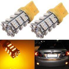 2 ชิ้น T20 7443 7440 3528 Smd 54 Led Amber สีเหลืองเลี้ยวสัญญาณ Blinker หลอดไฟ Unbranded Generic ถูก ใน Thailand