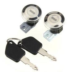โปรโมชั่น 2 X หน้าประตูล็อคลำกล้องออกด้วยกุญแจสำหรับ Peugeot 106 Mk2 1997 2004 205 405 ใน จีน