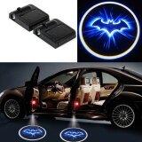 ราคา 2X Led Car Door Welcome Light Laser Car Door Shadow Led Projector Logo Batman Wireless Car Welcome Door For All Car Bmw Intl เป็นต้นฉบับ