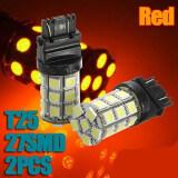 โปรโมชั่น 2X T25 3157 27 Led 5050 Smd Car Tail Brake Stop Turn Light Bulb Unbranded Generic ใหม่ล่าสุด