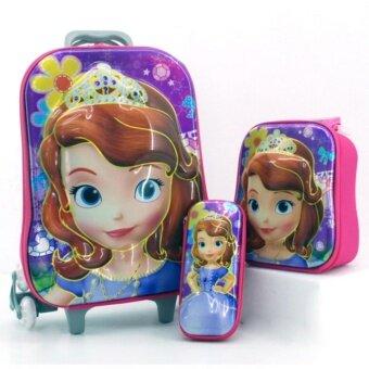 กระเป๋าล้อลาก เซ็ท 3 ใบลายการ์ตูน