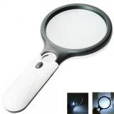 ราคา 3 Light 45X Handheld Reading Magnifying Glass Lens Jewelry Watch Loupe Intl ใหม่
