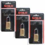 ซื้อ3ชิ้น ราคาพิเศษ Solo กุญแจรหัส สำหรับล็อคกระเป๋าเดินทาง ขนาด 20 มม No 89 Solo ถูก ใน กรุงเทพมหานคร
