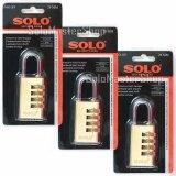 โปรโมชั่น ซื้อ3ชิ้น ราคาพิเศษ Solo กุญแจรหัส สำหรับล็อคกระเป๋าเดินทาง ขนาด 28 มม No 89 Solo ใหม่ล่าสุด