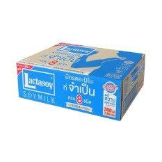 ขายยกลัง Lactasoy นมถั่วเหลือง ยูเอชทีแลคตาซอยรสหวานคลาสิค 300มล.แพ็ค 6*6.